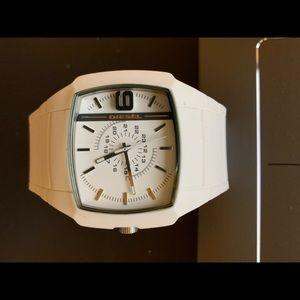Diesel fashion sporty watch white